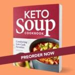Keto Soup Cookbook cover